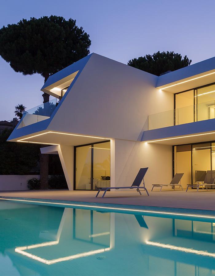Villa in Moraira, ENE Construcción, Architect RGB Arquitectos