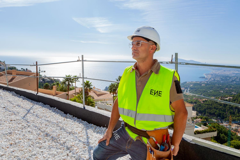Felipe López. ENE Construcción, construction company in Alicante, Spain