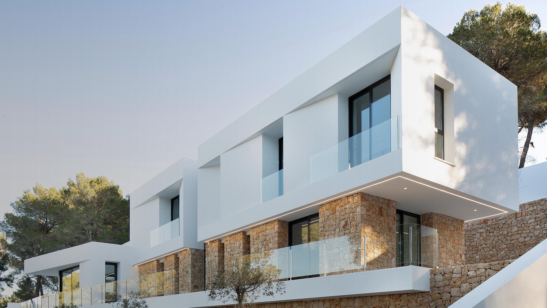 ENE Construcción, villa Jata in Moraira, Spain