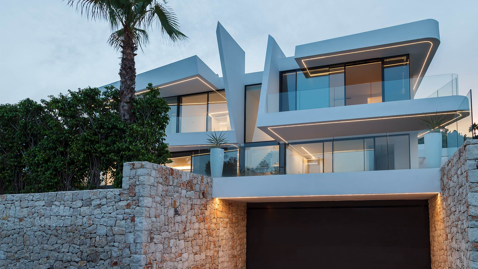 ENE Construccion, Villa Katya in Moraira. RGB Arquitectos