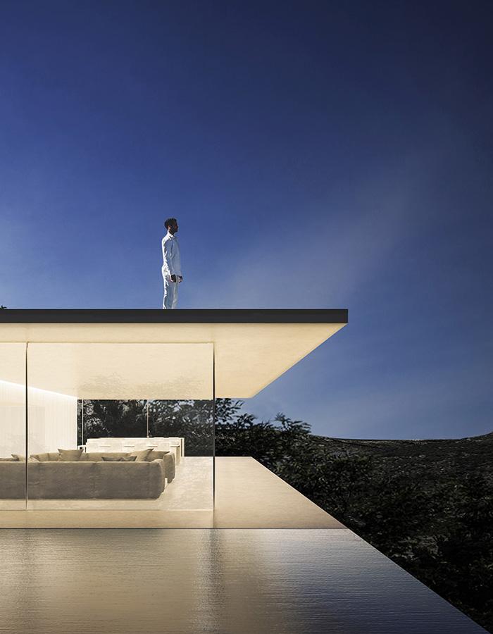 Proyectos Casa Espejo de Agua Fran Silvestre