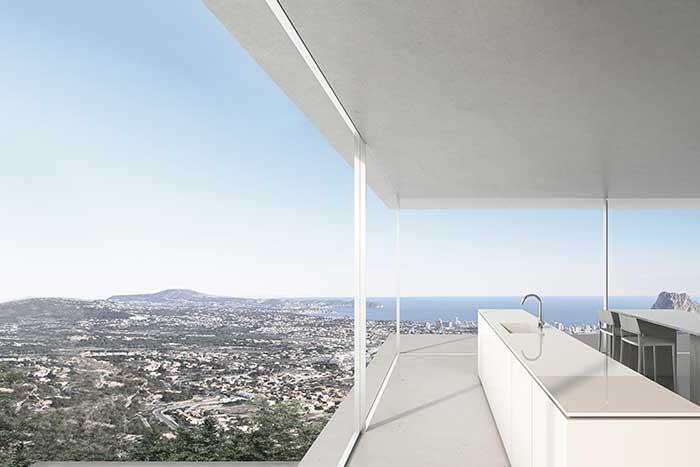 Continuamos con la construcción de una villa en Calpe, de Fran Silvestre Arquitectos
