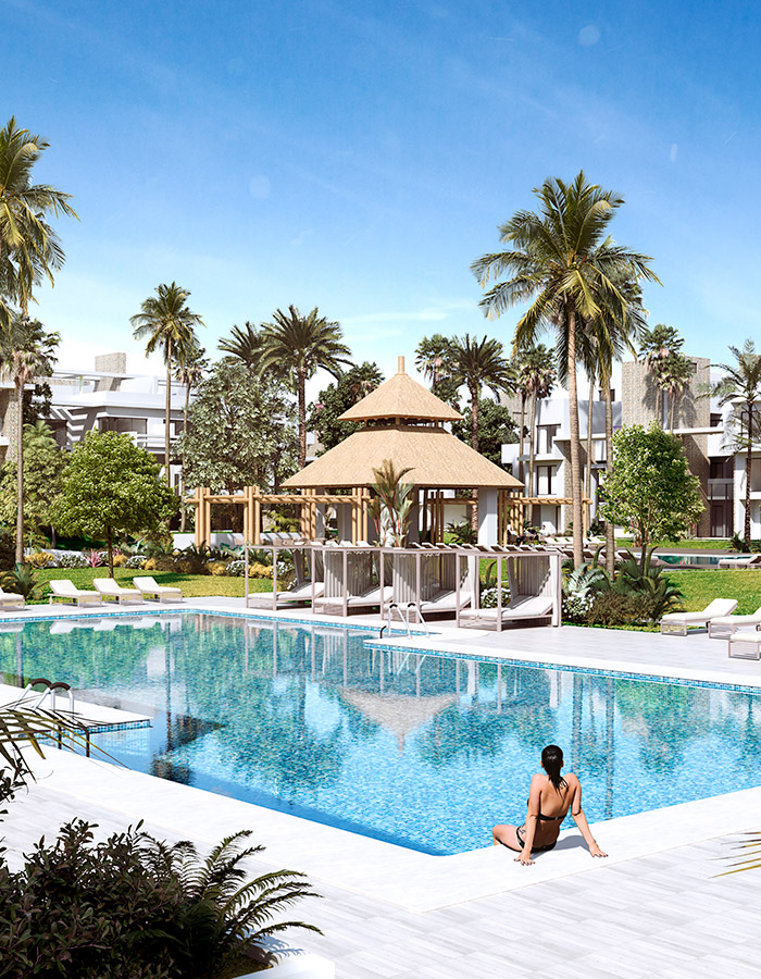 ENE Construcción, Residencial en Marbella, España