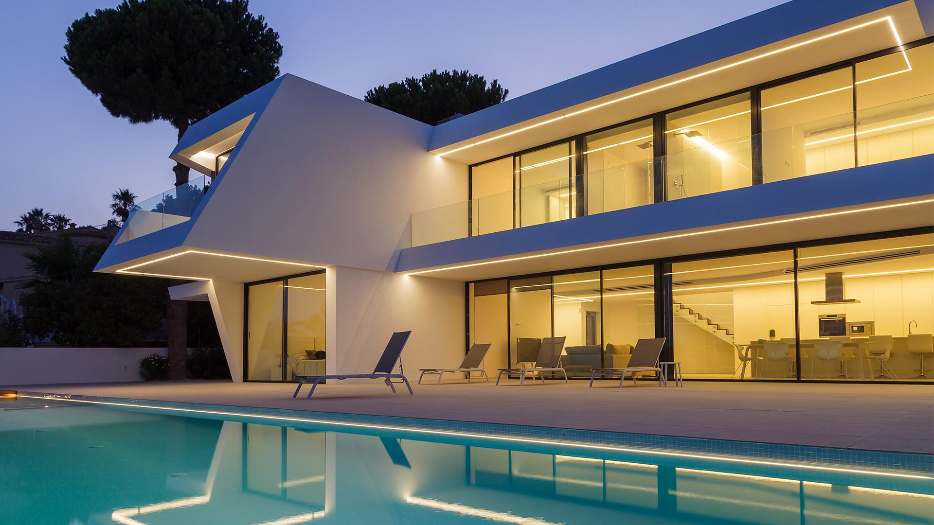ENE Construcción, vivienda unifamiliar en Moraira, España