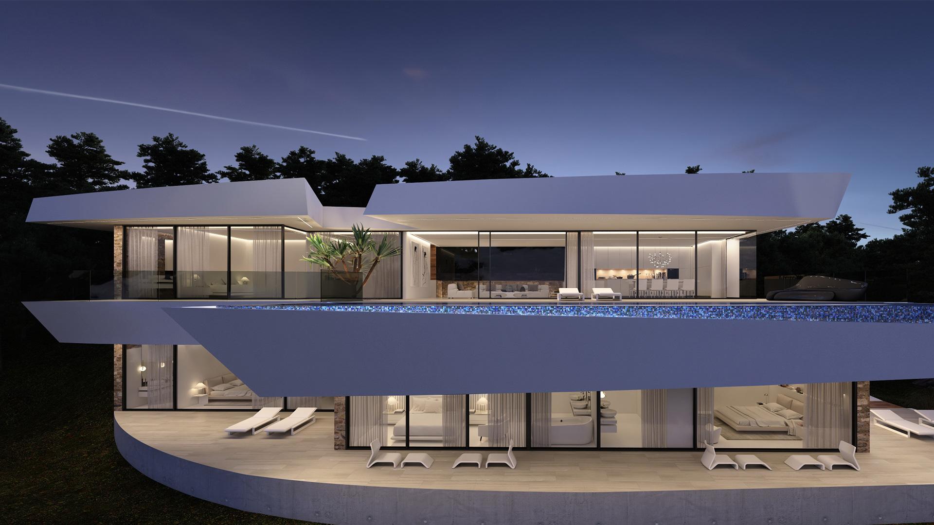 ENE Construcción, vivienda unifamiliar en Altea, España