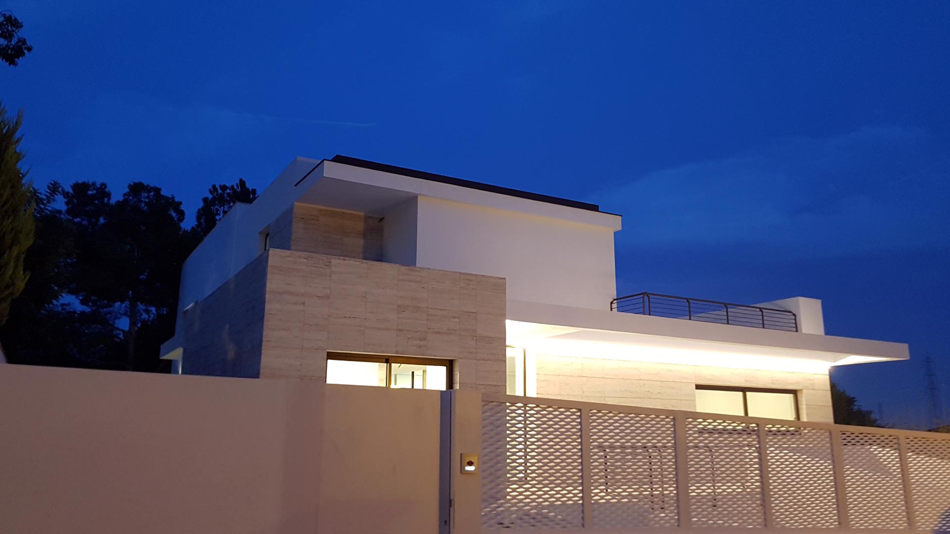 Vivienda unifamiliar en Valencia. ENE Construcción, constructora en España, RGB Arquitectos