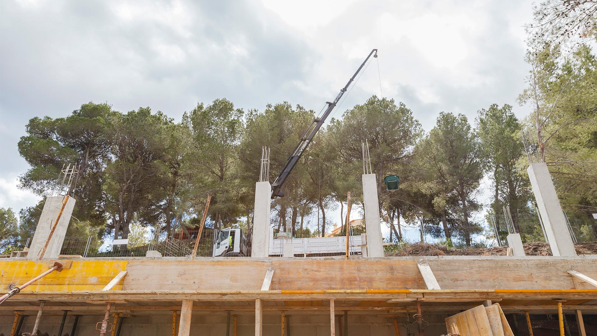 Vivienda unifamiliar en Moraira. ENE Construcción, constructora en España, Reme Giner Arquitectura