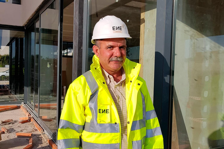 Angel Moreno. Equipo ENE Construcción. Constructora en Alicante, España