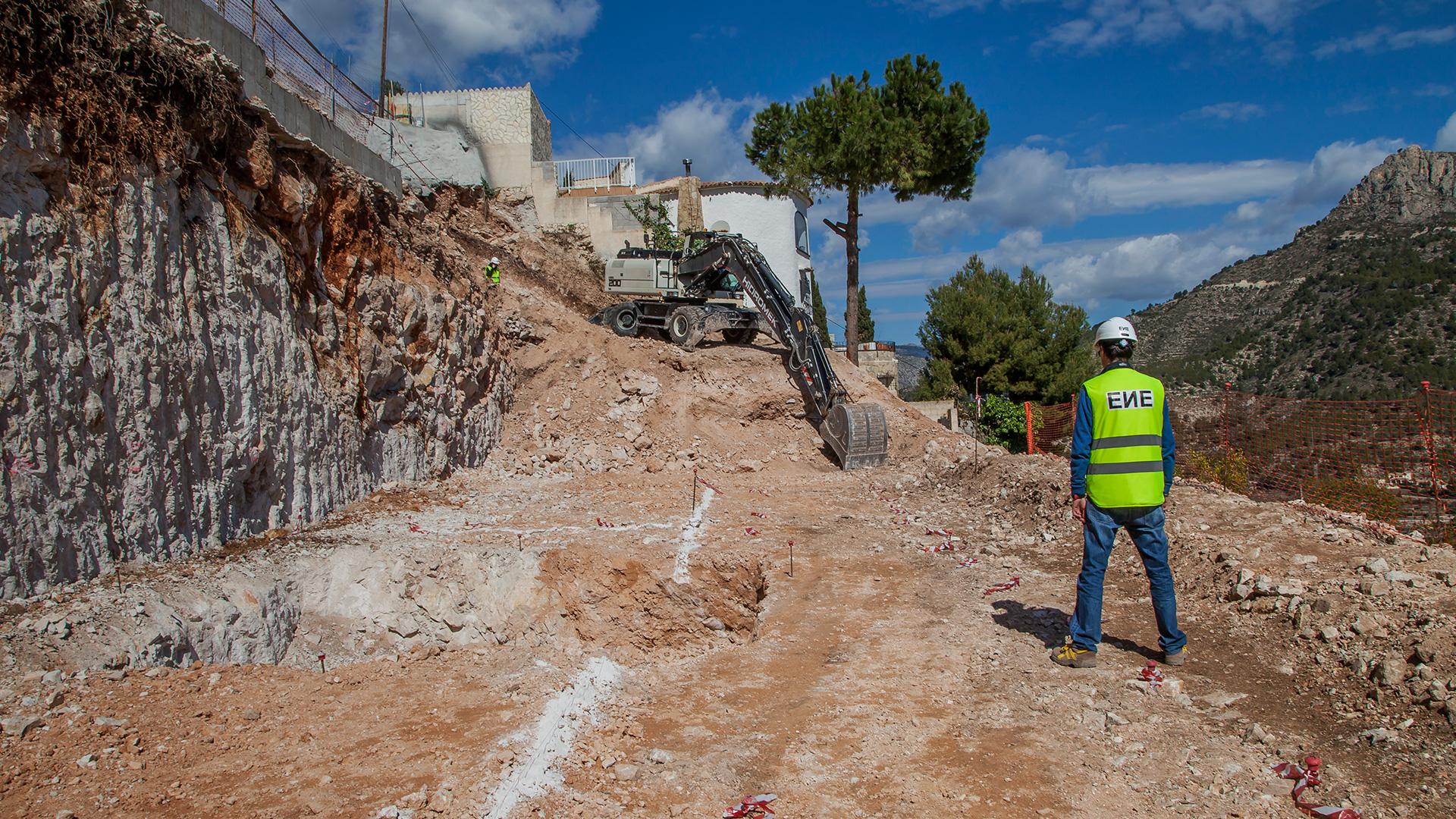 Vivienda unifamiliar en Altea, Casa espejo de agua, ENE Construcción, constructora en España, Fran Silvestre Arquitectos