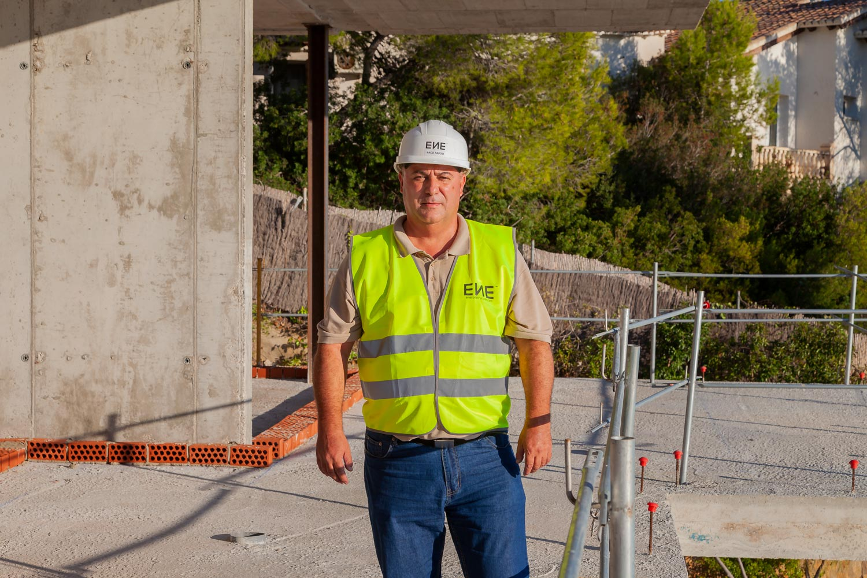 Francisco Pardo Rech. Equipo ENE Construcción. Constructora en Alicante, España