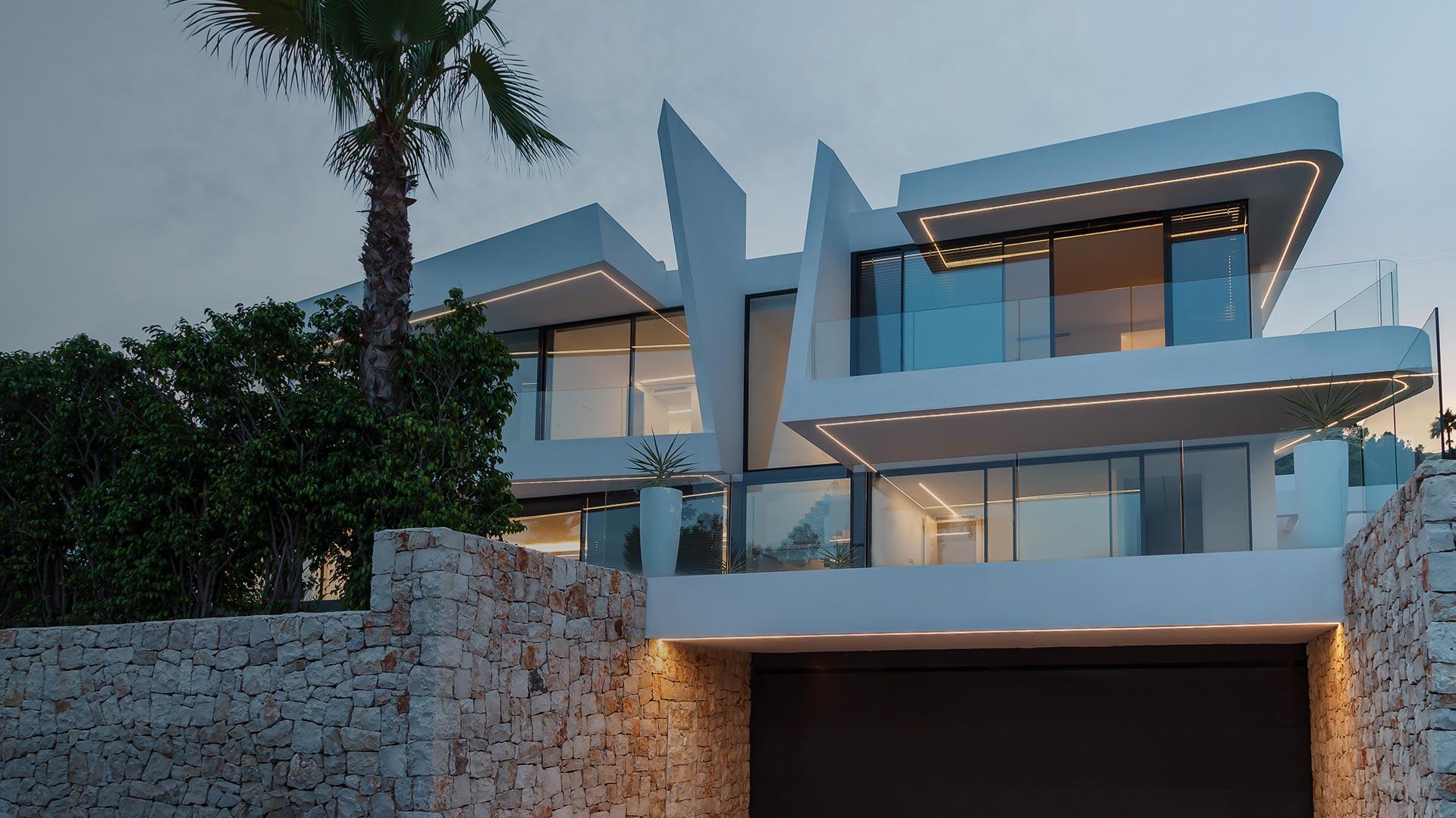 ENE Construcción, villa Katya, vivienda unifamiliar en Moraira, España